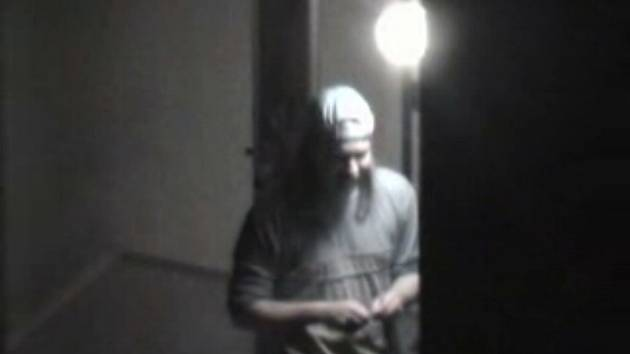 Snímek z videozáznamu.