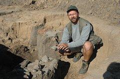 Archeolog Petr Brestovanský.