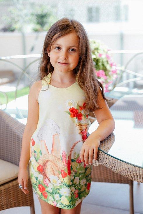1. Diana Luisa Davydenko - 7 let, Liberec.
