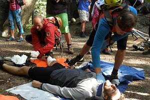 Horská služba na závodech v Jizerských horách ukázala, že umí.