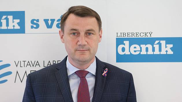 Hejtman libereckého kraje Martin Půta
