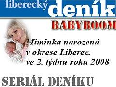 Miminka okresu Liberec 04.01.2008 až 10.01.2008