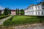 Zámecký park v Liberci na snímku z 18. července.
