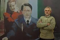 Malíř Jan Merta.