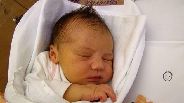 Veronika Kožariková se narodila 4. února v liberecké porodnici mamince Sabině Cinové z Raspenavy. Vážila 3,1 kg a měřila 48 cm.