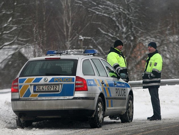 Sjízdnost silnic v Libereckém kraji. Ilustrační snímek.