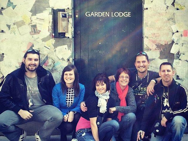 Londýn. Garden Lodge, sídlo Freddie Mercuryho v Kensingtonu.