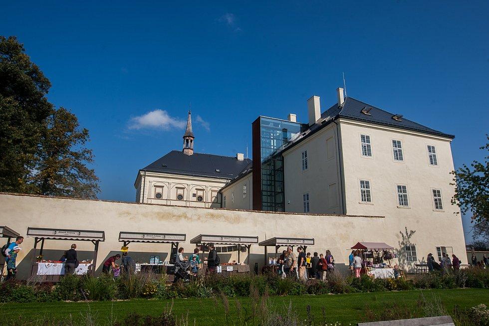 Druhý ročník Svatováclavské slavnosti proběhl 28. září na zámku Svijany. Na snímku je zámek Svijany.