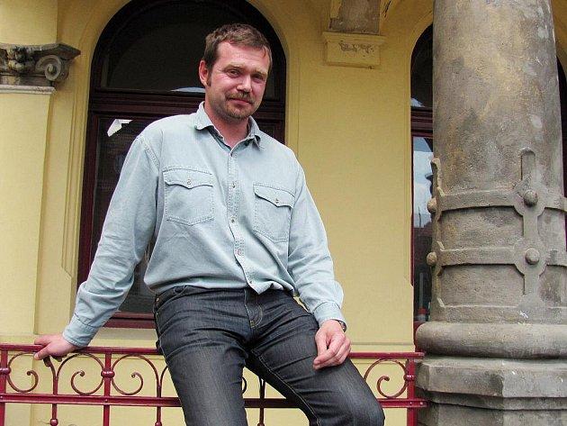 Ředitel Severočeského muzea v Liberci Jiří Křížek.