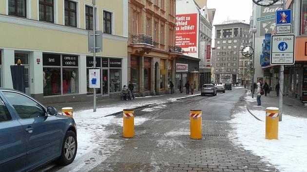 Revoluční ulice v Liberci byla uzavřena už v zimě