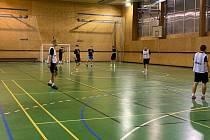 Hráči B-týmu FTZS Liberec na tréninku.