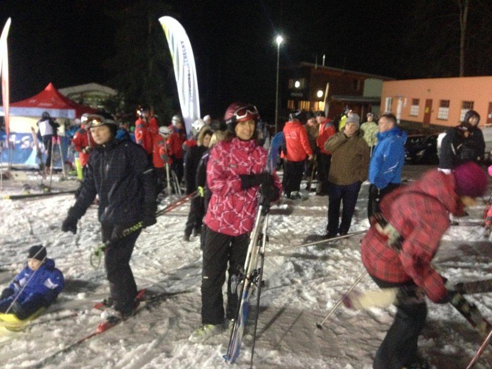 Ve Ski areálu Ještěd se v pátek konal třetí ročník akce S rodinou na Ještěd.
