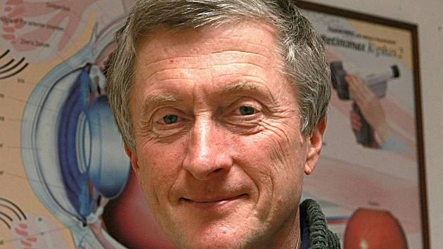 Oftalmolog Jiří Korynta.