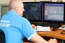 Strážníci mohou nyní monitorovat město prostřednictvím 23 kamer a další čtyři ještě přibudou.