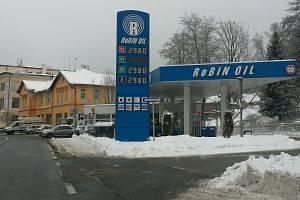Benzínová stanice. Ilustrační snímek.