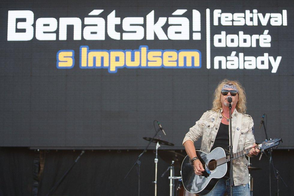 Festival Benátská! v libereckém Vesci. Na snímku Peter Nagy