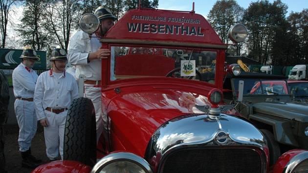 Výstava k příležitosti výročí čtyřiceti let od svého vzniku Veteran car club Nisa.