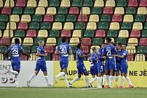 Fotbalisté libereckého Slovanu vyhráli v Litvě vysoko 5:1 a postoupili do třetího předkola Evropské ligy.