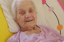 Marie Staňková oslaví v dubnu už 101. narozeniny. Ale, jak říká, už jí to tady moc nebaví.