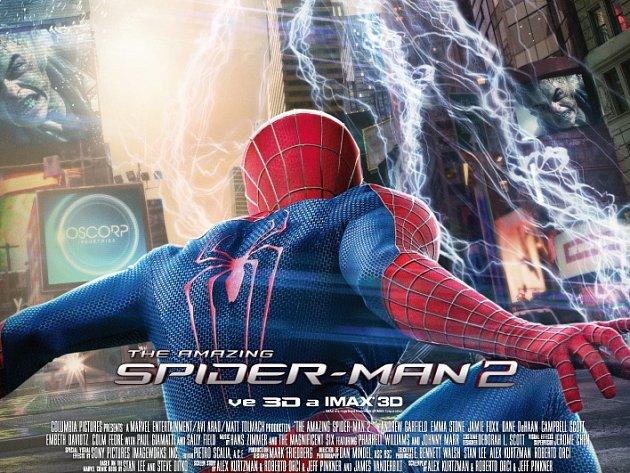 AMAZING SPIDER-MAN 2 můžete v těchto dnech vidět v libereckém CineStar jako 3D představení nebo jako standardní představení s dabingem či titulky.
