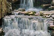 Hana Palečková: vodopády Jedlová