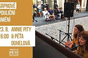 Pouliční umění: Annie Pity & Péťa Ouhelová