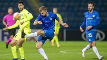 FC Slovan Liberec - KAA Gent (skupina) I. poločas 1:0