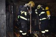 Liberečtí hasiči vyjížděli k požáru rodinného domu.