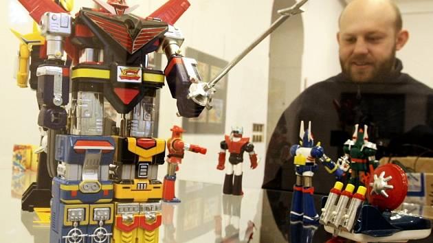 Roboti z japonských animovaných televizních seriálů ze 70. let minulého století.