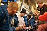 Tréninkové utkání HC Bílí Tygři Liberec proti HC Benátky nad Jizerou hraného ve Frýdlantě v rámci soustředění před play-off. Po zápase následovalo setkání s fanoušky a autogramiáda hráčů.