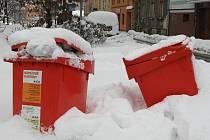 NEÚSPĚŠNÝ EXPERIMENT. Červené kontejnery podle Květoslavy Morávkové nedoprovázela žádná cílená osvěta v tom smyslu, že by někdo řekl, jak mají vypadat odpady, jenž se do nich odkládají.