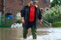 Vydatné deště opět zasáhly Liberecko