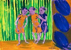 Výstava obrazů Lubomíra Typlta je k vidění až do konce října v galerii Prostor 228 (u soudu) v Liberci.