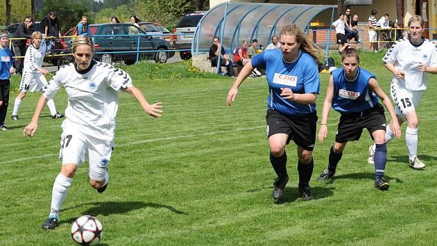 Fotbalistky Slovanu Liberec již klepou na dveře první ligy
