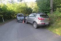 V sobotu 29. července 2017 došlo k dopravní nehodě na Českodubsku. Před sedmou hodinou večerní se srazila dvě osobní auta.