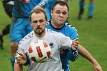 Fotbal Spartak Hodkovice. Ilustrační foto.