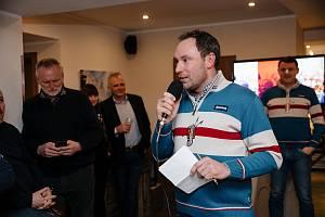 Jeden z hlavních organizátorů Jizerské 50 Marek Tesař z agentury Raul.