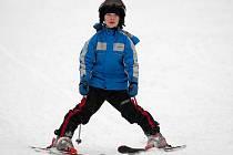 NA JEŠTĚDU se lyžuje