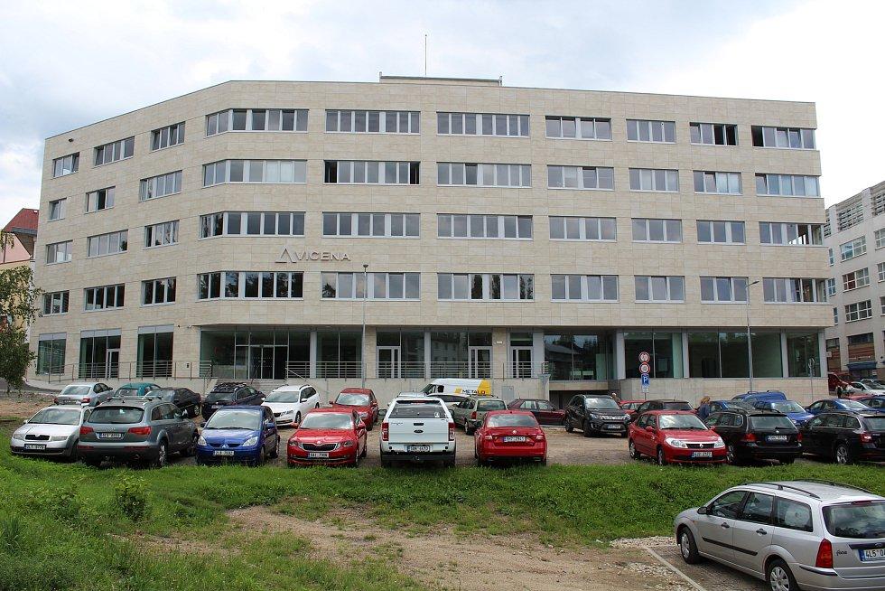 Objekt Aviceny v Pálkově ulici zatím zeje prázdnotou.