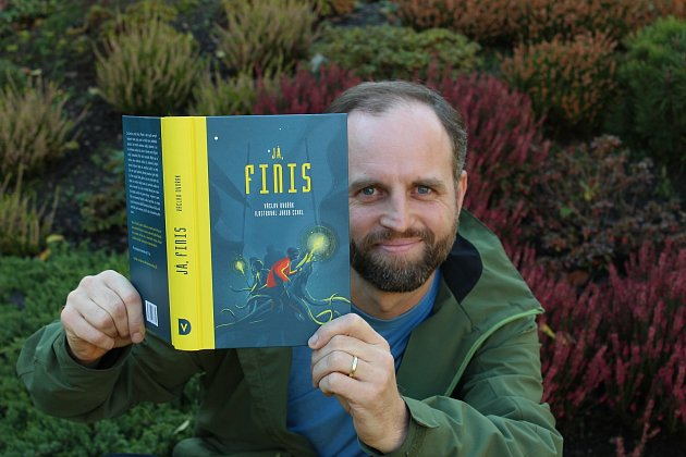 Václav Dvořák si odnesl Kosmas cenu čtenářů za svou druhou knihu Já, Finis.