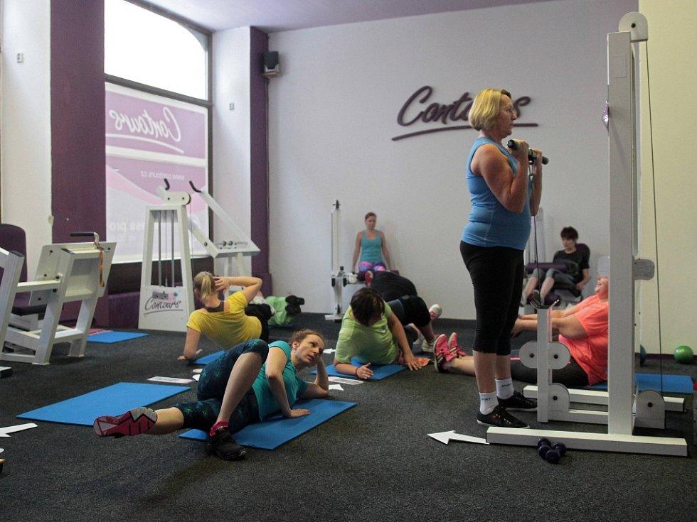 Fitness Contours Liberec slaví výročí. Na snímku návštěvnice centra.
