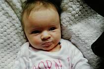 ISABELLA BAŠNÁROVÁ. Narodila se 2. září v liberecké porodnicimamince Kláře Bašnárové z Liberce.Vážila 4,21 kg a měřila 54 cm.