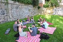 Další veganský piknik proběhne ve středu 8. srpna v parku v Budyšínské ulici nad Tržním náměstí. Zváni jsou všichni, donesené jídlo ale nesmí obsahovat žádné živočišné složky, tedy maso, mléko, vejce a výrobky z nich a med.