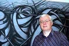 Roman Karpaš se nevěnuje jenom knihám, ale také i umění, konkrétně grafikám a kresbám.