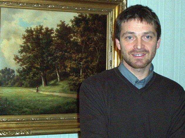 Oblastní galerii vede nový ředitel, kunsthistorik Jan Randáček.