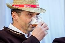 Druhý ročník Svatováclavské slavnosti proběhl 28. září na zámku Svijany. Na snímku je ředitel pivovaru Svijany Roman Havlík.