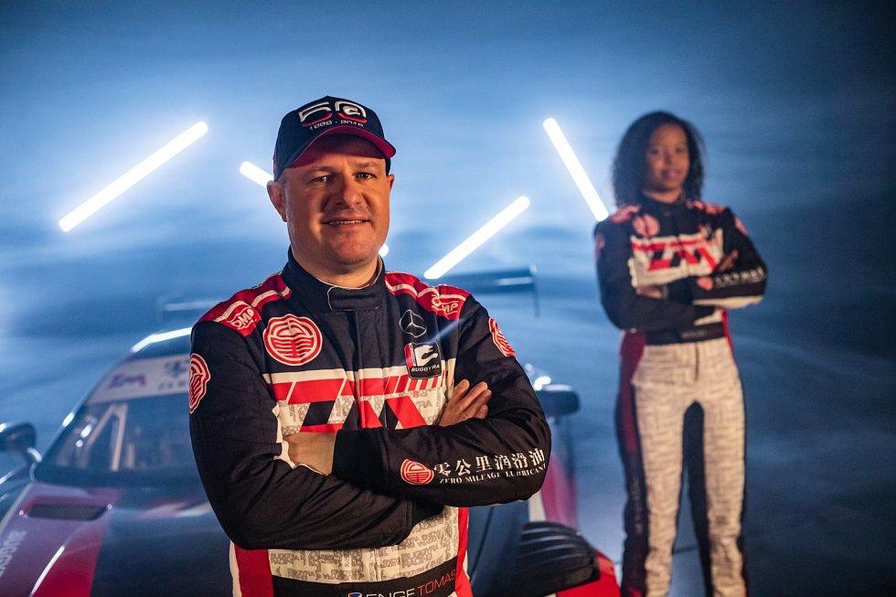 Tomáš Enge v barvách týmu Buggyra Racing.