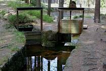 Vodní elektrárna v Rudolfově.