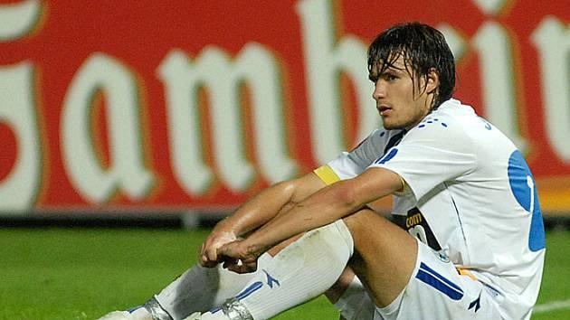 Fotbalista Michal Jonáš svůj první boj vyhrál