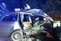 Vážná dopravní nehoda v Mníšku.